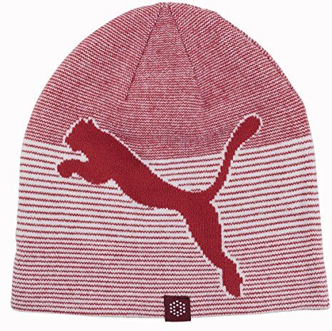 Offering two awesome looks these mens reversible golf winter beanie hats by Puma will have you looking your very best on the course!
