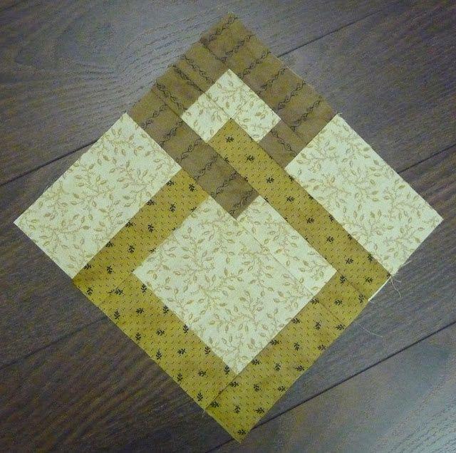 Este bloco faria alguns padrões secundários interessantes em uma colcha de retalhos.