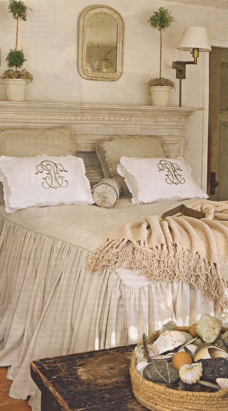 Beautiful bedrooms great use of mantel ma chambre for Beautiful bedroom pictures me