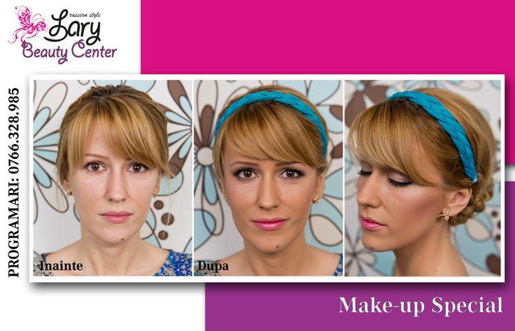 make-up discret de zi http://www.larybeautycenter.ro/