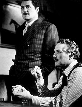 """The Sting,"" (1973) Paul Newman & Robert Shaw."