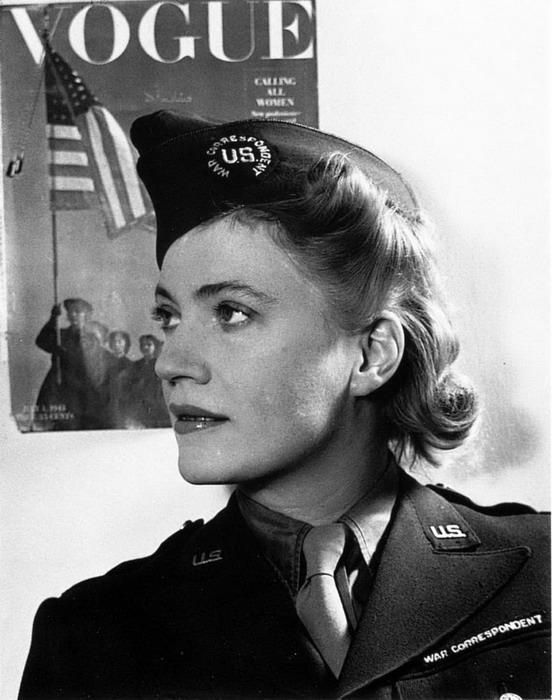 "Elizabeth ""Lee"" Miller (1907-1977) was an acclaimed war correspondent and photographer for Vogue during World War II."