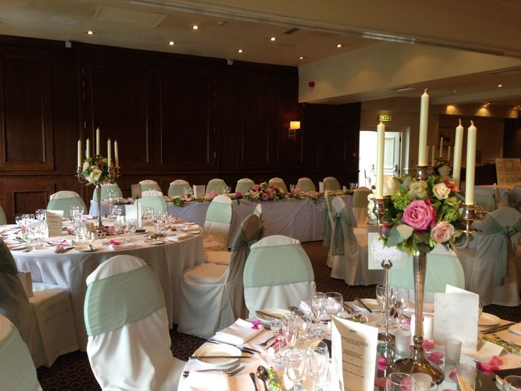 Gorgeous pinks and soft greens at The Alderley Edge Hotel