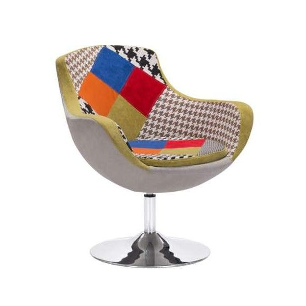 Zuo Modern Walloon Occasional Chair Walloon Occasional Chair Patchwork (7  140 ZAR) ❤ Liked