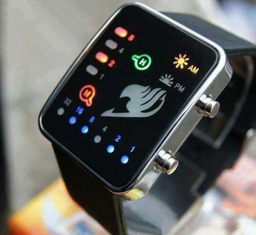 I want!!! Fairy Tail watch