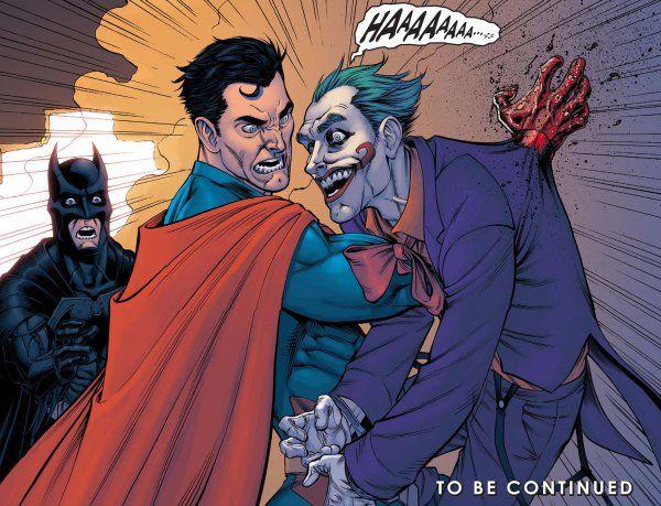 Superman Kills the Joker (Injustice)