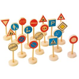 Znaki drogowe  dla dzieci (18 elementów)