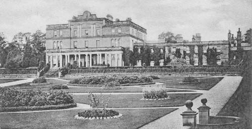 Eden Hall, Penrith, Cumbria. demolished 1934 due to insufficient wealth.