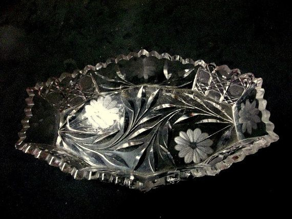 Best images about antique vintage crystal and glassware