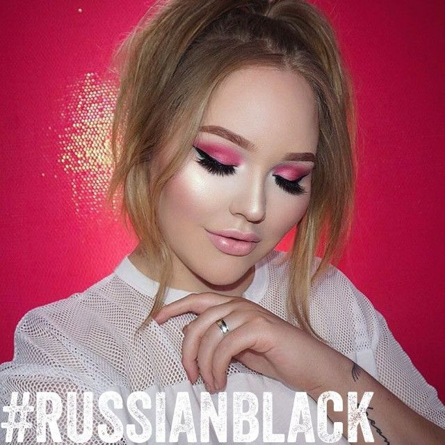 nubounsom russian black false eyelashes nikkietutorials