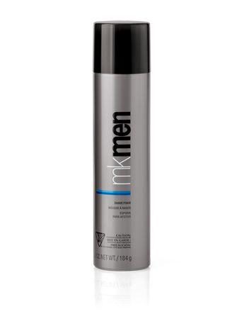 MKMen® Shave Foam  6.5 oz.  This enriched formula surrounds and clings to each whisker, creating a comfort zone between razor and skin for a clean, close shave. The rich cream has a light, fresh scent any man will love.      Softens the beard for a smooth, close shave.  Protects against razor burn.  Clinically tested for skin irritancy and allergy.  Suitable for sensitive skin.  Non-comedogenic.