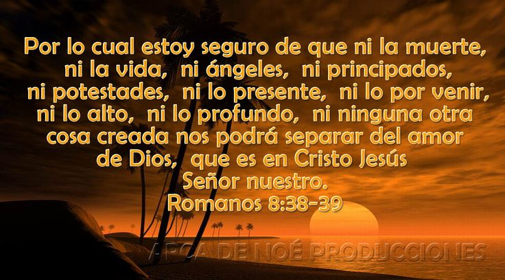 Romanos 8:38,39