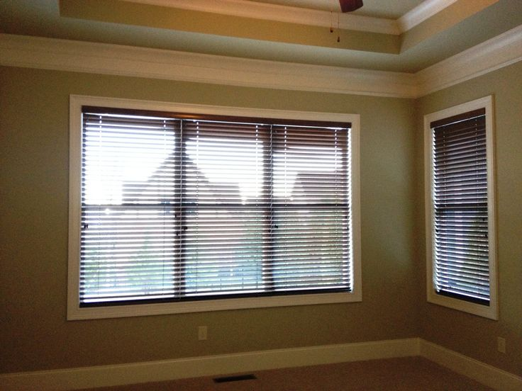 17 Best Images About White Trim Dark Blinds On Pinterest