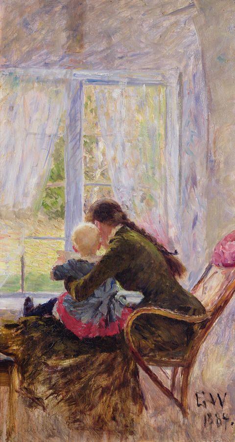 You and Bebe-Erik Theodor Werenskiold