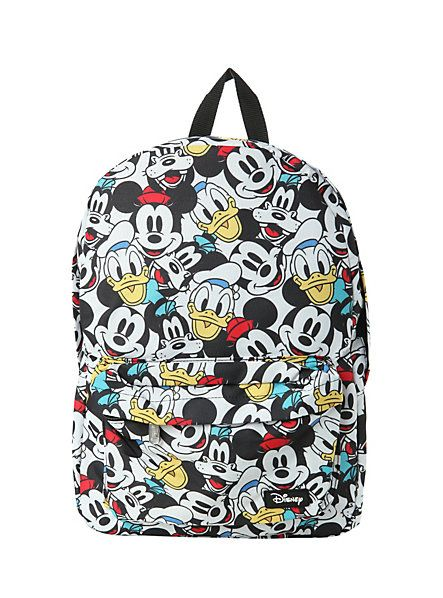 Disney Mickey Mouse & Friends Backpack | Hot Topic $34.50