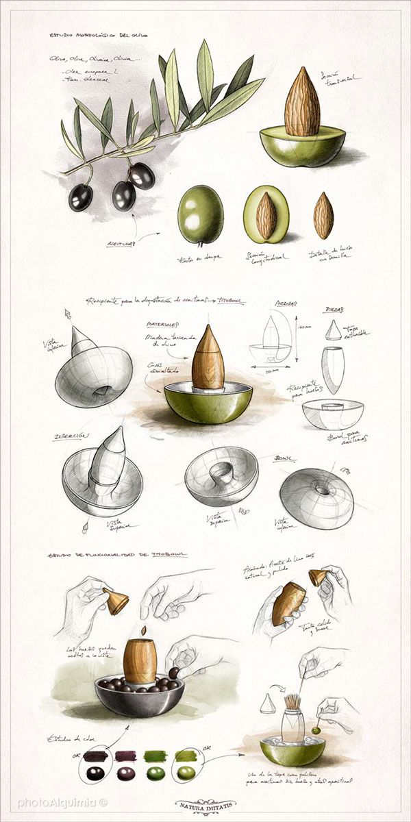 Sketches TITOBOWL on Behance by photoAlquimia.