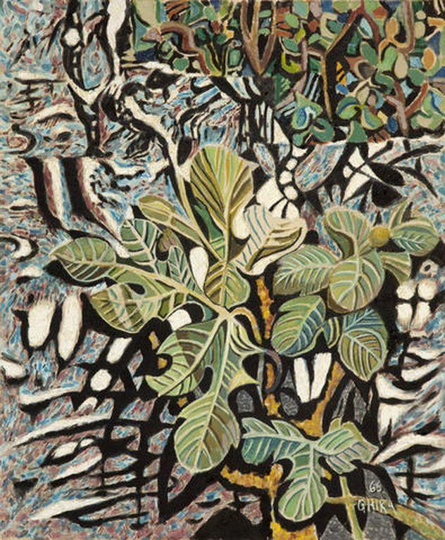Χατζηκυριάκος-Γκίκας Νίκος-Leaves, 1966