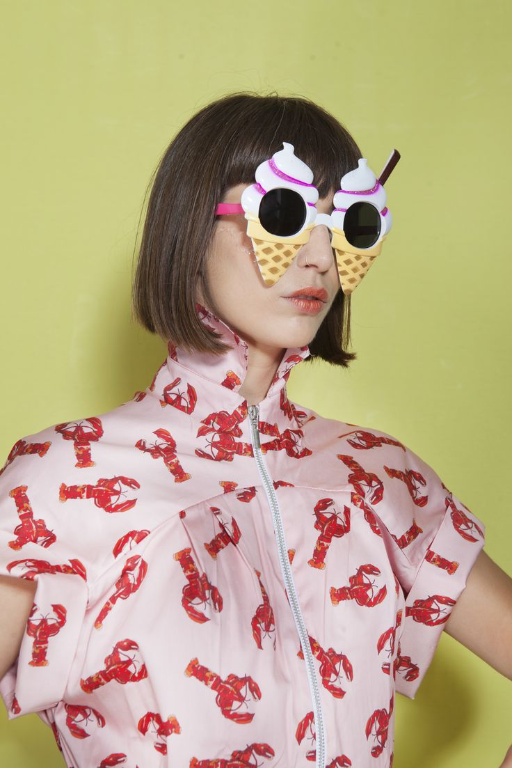 Lobster bomber by @studiomateriality and @hallelujah