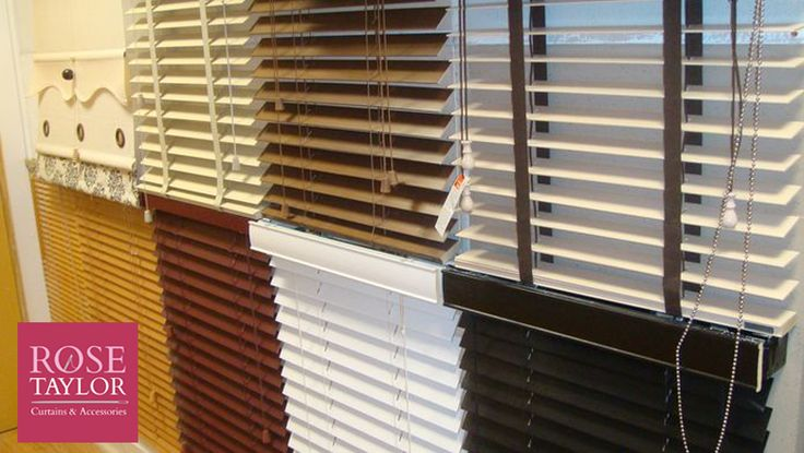 Some of our blinds at www.rosetaylorcurtains.com
