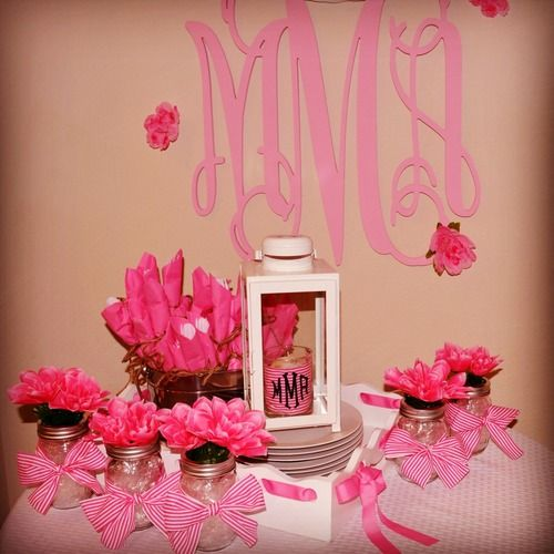 Cute Wedding Shower Decorations : Bridal shower ideas on shoe decorations