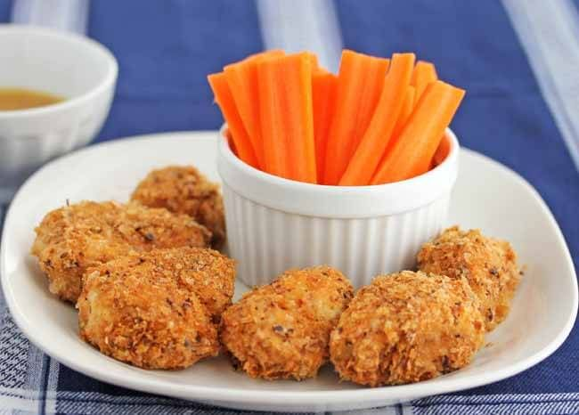 Gluten-Free Buffalo Chicken Nuggets Recipe for Super Bowl Sunday - Jeanette's Healthy Living
