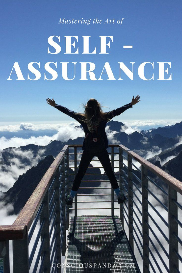 Mastering the Art of Self-Assurance