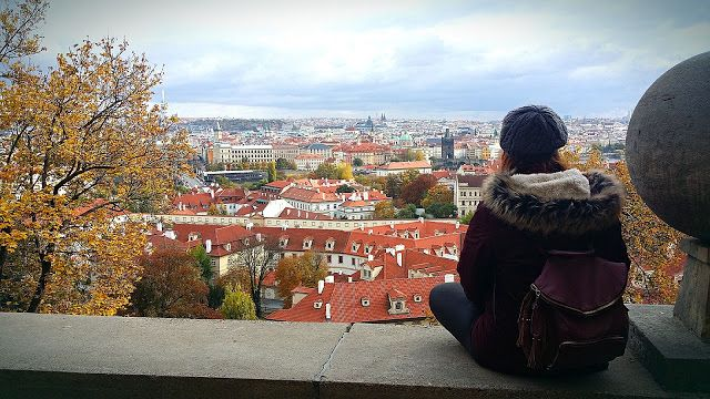 Penny In Wanderland: Η Πράγα από ψηλά/Prague from above!!