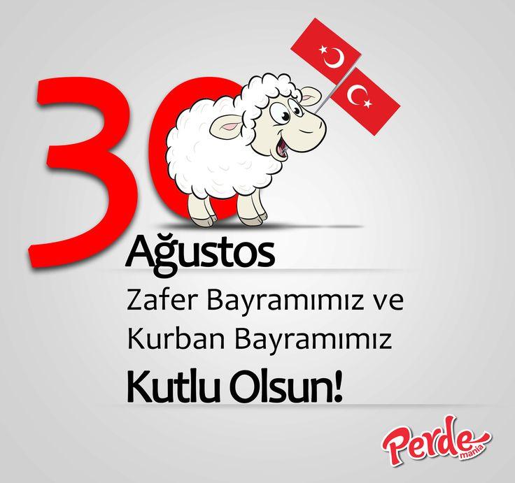 Tarihi şanlı zaferlerle dolu olan milletimizin 30 Ağustos Zafer Bayramını kutlar, birlik beraberlik ve paylaşım dolu bir Kurban Bayramı dileriz.   #zaferbayramı #kurbanbayramı