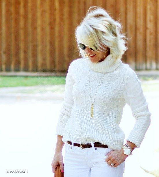 Hi Sugarplum   White Jeans After Labor Day