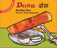 Rs. 60. Dosa - Sandhya Rao, Ashok Rajagopalan, Tulika Books, 28 Pages, Paperback. Who ate the dosas? Amma makes dosas but they keep disappearing! A story in which children have the last laugh! They will also experience the fun and excitement of making the pictures move. There are instructions on how they can do that at the end of the book.