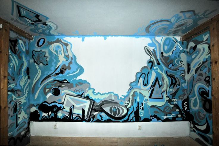 wnętrze , interrior , polish graffiti