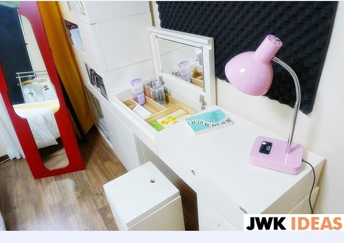 Image detail for -Sweet Potato Days: Pictures of the YongSeo Newlywed House - Love the dressing table