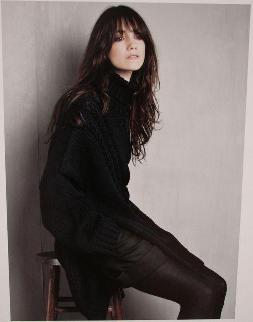 Charlotte Gainsbourg shot by Patrick Demarchelier