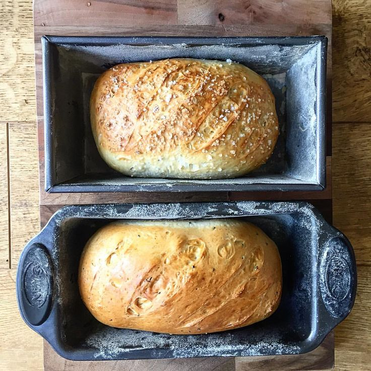 Spot of baking over the weekend. Rosemary and sea salt loaf & cumin, caraway and onion seed loaf #baking #freshbread #properfoodie