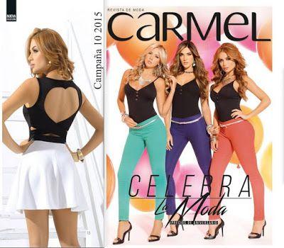 Ver el actual Catalogo de Carmel, Campaña 10 2015. Ademas, Carmel celebra en este mes de junio su 18 Aniversario, con rebajas en ropa y calzado