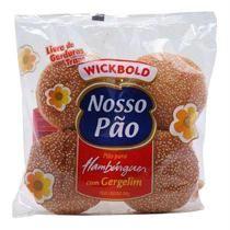 Pão WICKBOLD hamburguer integral pacote 200g