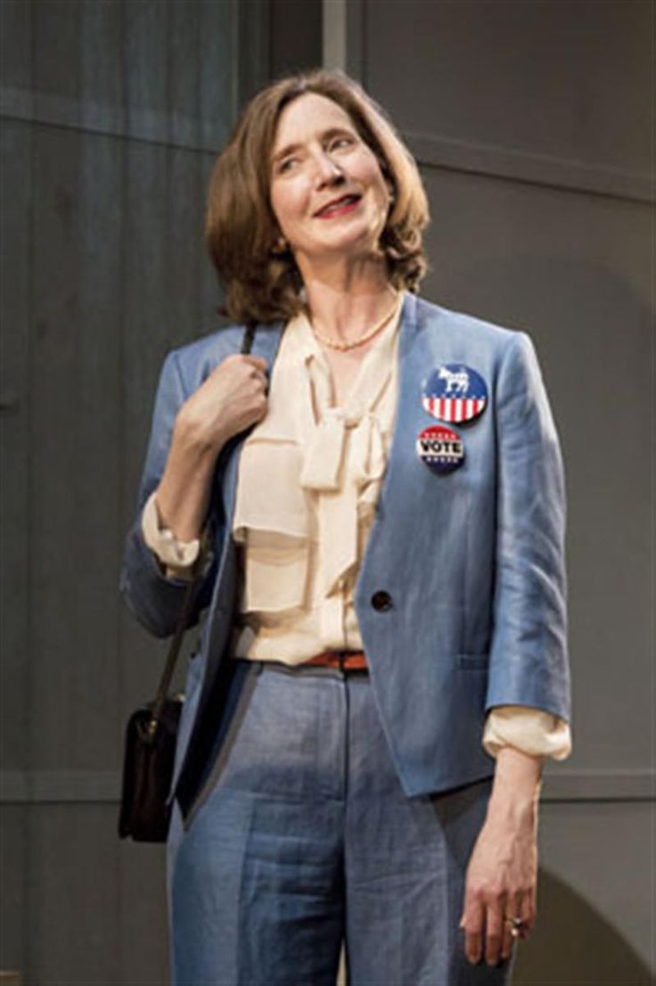 Nancy Crane in Chimerica at the Harold Pinter Theatre