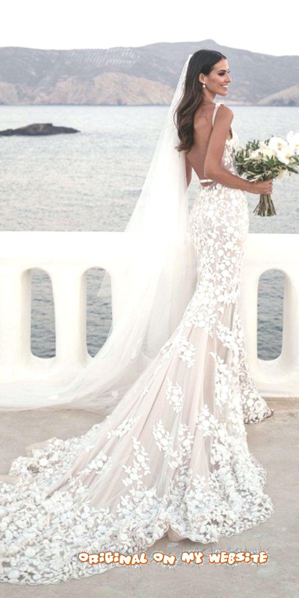 Wedding Dresses Tumblr Mermaid Wedding Dresses With Straps Low Back Floral Blush With Train Steven Wedding Dresses Wedding Dress Tumblr Mermaid Wedding Dress