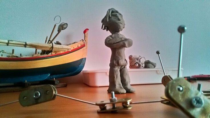 Stop motion studio clay