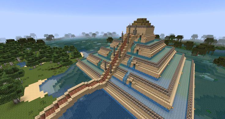 Cool Minecraft creation   Clenrock.com