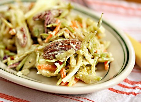 Recipe for curried apple and pecan broccoli slaw | ***Blogging Friends ...