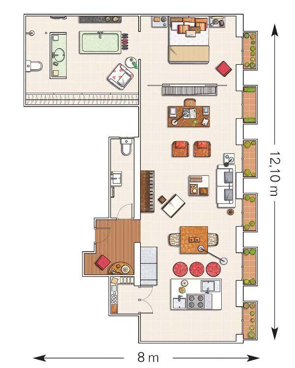 La casa de una interiorista