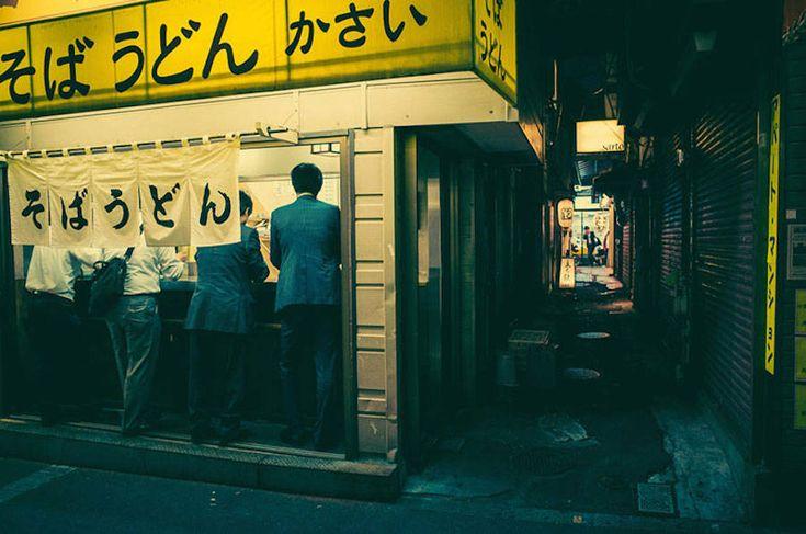Os becos e as luzes de Tóquio – por Masashi Wakui | The Hype BR