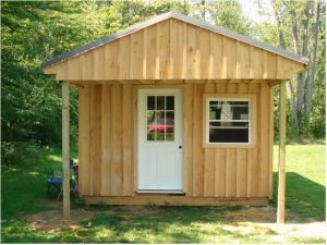 If you have some extra space in your backyard, a great idea is to build a small cabin for extra sleep or living space. There is an amazing tutorial at the Instructables site on exactly how to build...