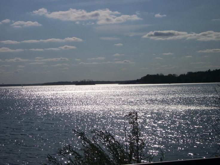 Lake Minnetonka in Minnesota. Lake I grew up on. This is Wayzata Bay.