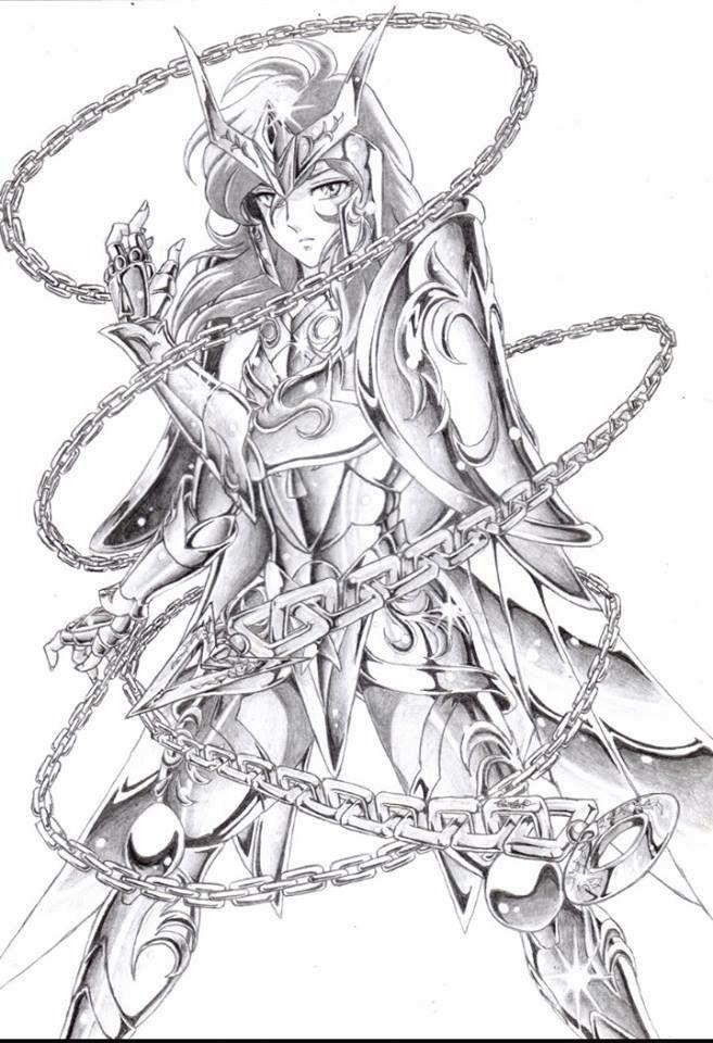 Andromeda Shun - Saint Seiya - Caballeros del Zodiaco