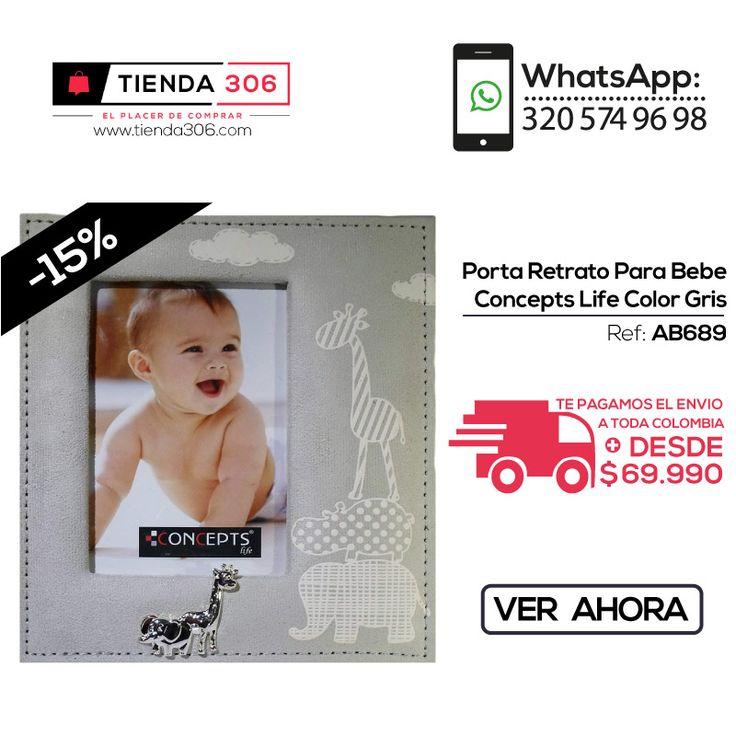 Las Mejores Promociones - Portarretratos para Bebé Concepts Life Ref.: AB689 📞 +57 320 574 96 98 Ver Ahora: http://bit.ly/2gGugPH