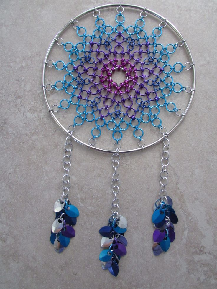 Chainmaille Dreamcatcher                                                       …                                                                                                                                                                                 More