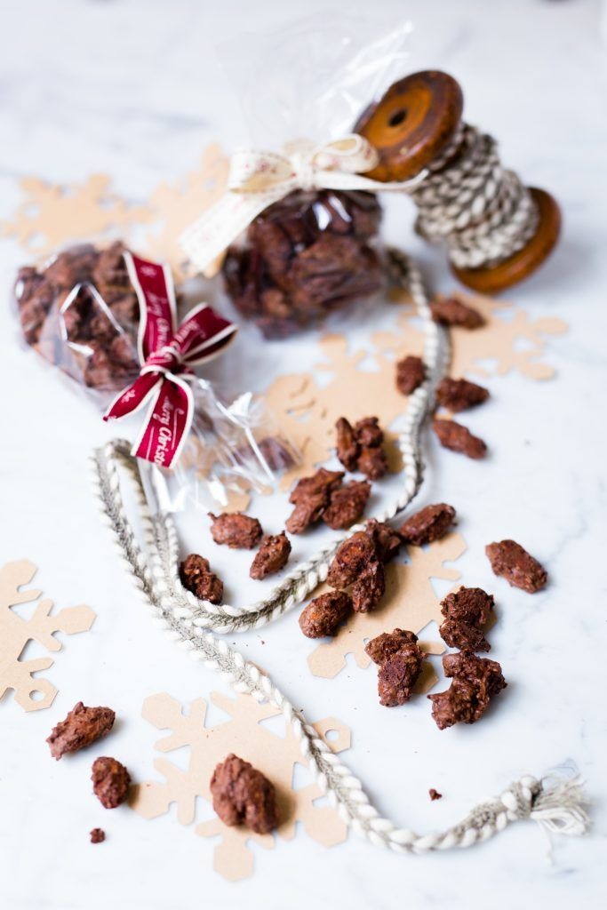 Thermomix chocolate coconut almonds