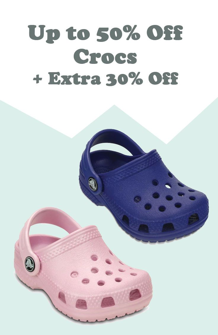 73bc61bc8c37d Up to 50% Off Crocs + Extra 30% Off + Free Shipping